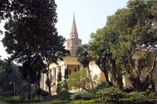 St John S Church In The BBD Bagh District Of Kolkata With Its Impressive Colonnades And Stone Spire Was Built In 1787.