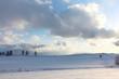 雪の丘と雲2 北海道(美瑛)