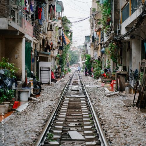 Foto  Hanoi Train Street