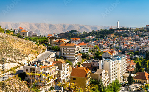 View of Zahle, the capital of Beqaa Governorate of Lebanon Wallpaper Mural