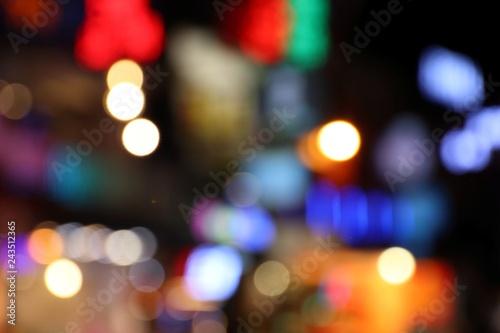 In de dag Las Vegas Neon night city