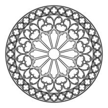 Gothic Rose Window. Popular Ar...