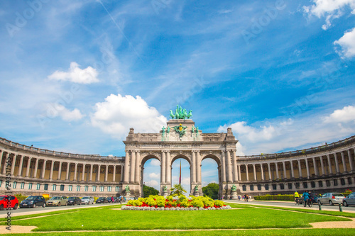 Tuinposter Brussel Brussels Triumphal Arch