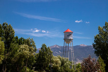 Water Tower  Montana USA