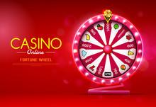 Fortune Wheel Spinning  Casino...