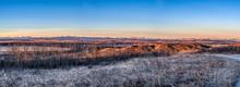 Sunrise Over Alberta Foothills