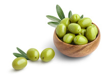 Delicious Green Ripe Olives In...