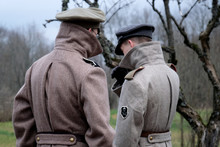 Two Estonian Soldiers. 1918 Year
