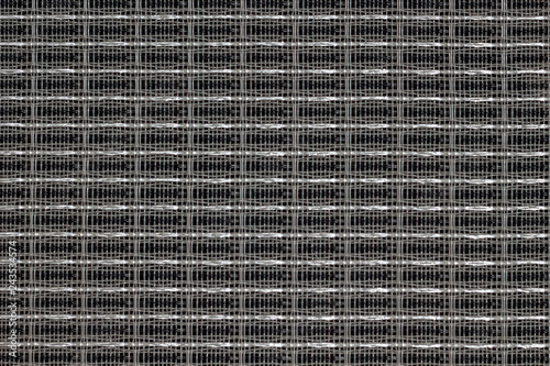 Fabric acoustic mesh for speaker amplifier protection Canvas Print