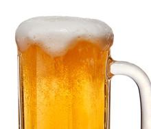 Beer With Head In Mug