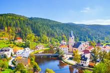 Rozmberk Nad Vltavou In Czechia