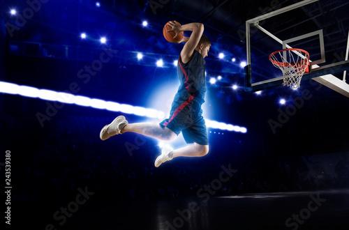 Man basketball player