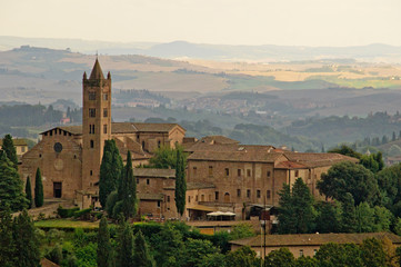 Fototapeta na wymiar Basilica dei Servi