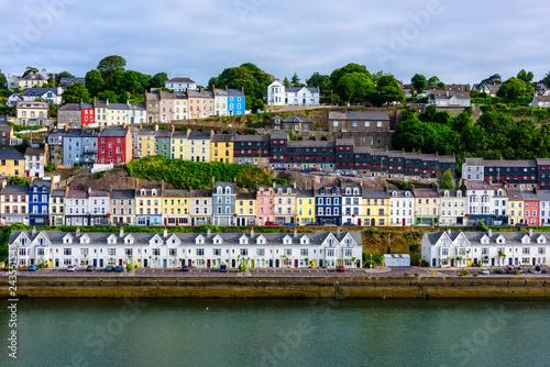 Canvas Print Seaport Village of Cobh, Ireland