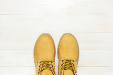 Yellow Men's Work Boots From N...