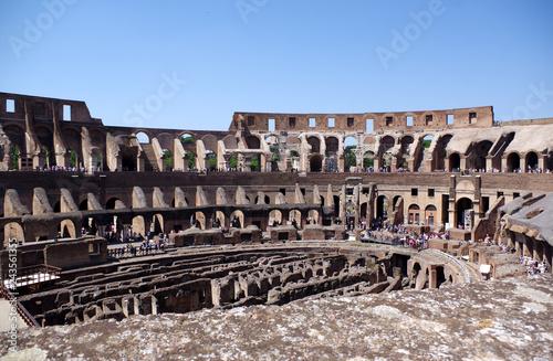 Le Colisée a Rome Tableau sur Toile