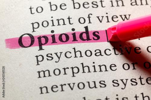 Fotografía definition of opioids