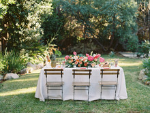 Table In The Garden