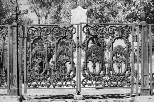 Fotografie, Obraz  Old West Cemetery