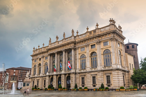 Foto  Royal Palace (Palazzo Madama e Casaforte degli Acaja) in Turin, Italy