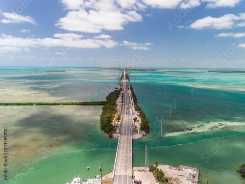 Valokuva  Florida keys aerial