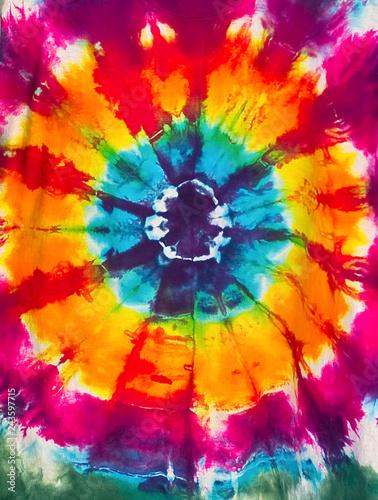 Okleiny na drzwi - Kolorowe - Wielobarwne  tie-dye