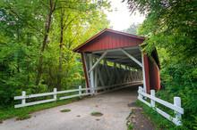 Everett Covered Bridge In Cuyahoga Valley National Park
