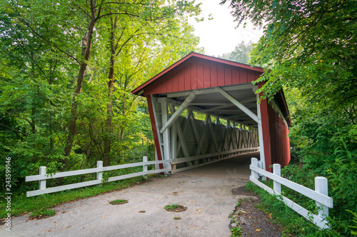 Photo  Everett Covered Bridge in Cuyahoga Valley National Park