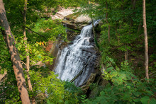 Brandywine Falls In Cuyahoga Valley National Park