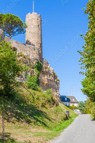 Foto op Aluminium Historisch geb. donjon du château de Turenne, Corrèze, France
