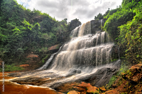 fototapeta na lodówkę Kintampo waterfalls (Sanders Falls during the colonial days) - one of the highest waterfalls in Ghana.
