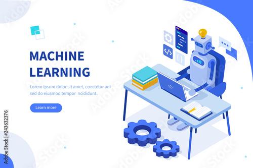Leinwand Poster machine learning