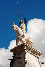 Arche Scaligere Of Mastino II In Verona Italy