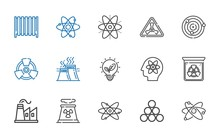 Nuclear Icons Set