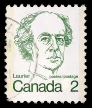 Stamp Printed In Canada Shows ...