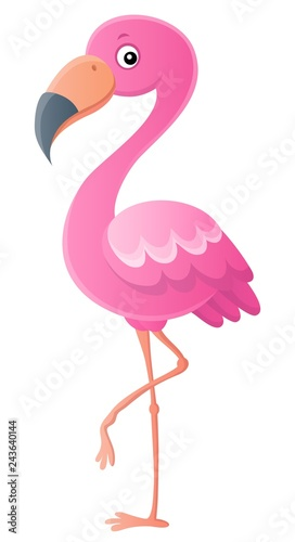 Papiers peints Enfants Stylized flamingo theme image 1