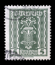 Stamp Printed In Austria, Show...