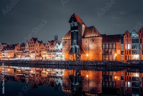 Gdansk old town at night © Filip Olejowski