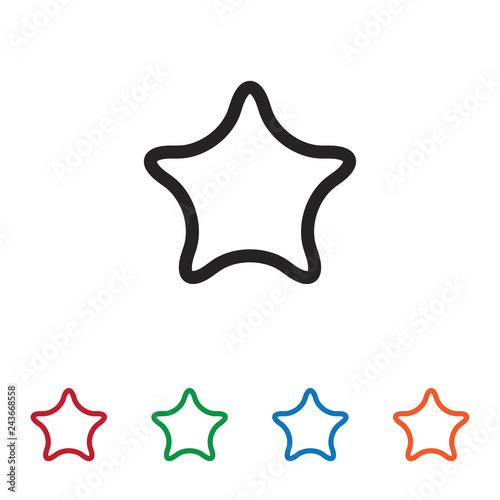 Fotografie, Obraz  Favorite vector icon