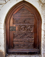 Wooden Carved Doors Throughout Italy And France