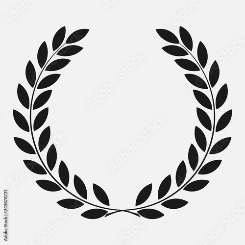 Photo  icon laurel wreath