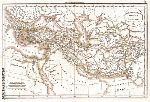 1832, Delamarche Map of the Empire of Alexander the Great ... on after alexander the great empire, ancient greece, ancient egypt, napoleon bonaparte, map of augustus caesar empire, map of rivers of the world, breakup of alexander's empire, map of land conquered by alexander the great, battle map alexander the great empire, map of bactrian empire, map of napoleon's empire, peloponnesian war, map ancient greece alexander the great, map of seleucus empire, cleopatra vii of egypt, map alexander great expansion map, extent of alexander's empire, byzantine empire, blank map of alexander's empire, map of magadha empire, how big was alexander's empire, map of the greek empire, philip ii of macedon, roman empire, map of pyramids around the world, julius caesar, cyrus the great, map of phoenician empire, map of the muslim empire, alex the great empire,