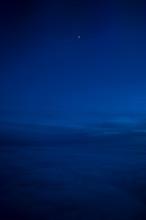Night Sky Of Dark Blue Color A...
