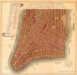 1807, Bridges Map of New York City, 1871 reissue