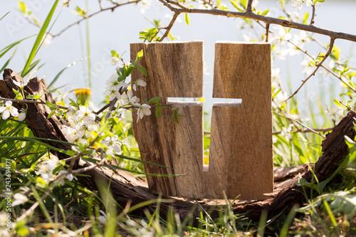 Das Kreuz Fototapete