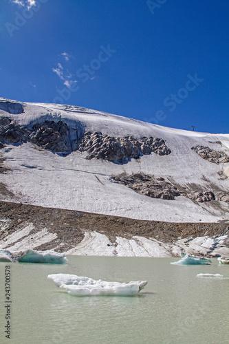 Gletschersee am Rettenbachferner
