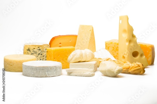 Various Kinds of Cheeses