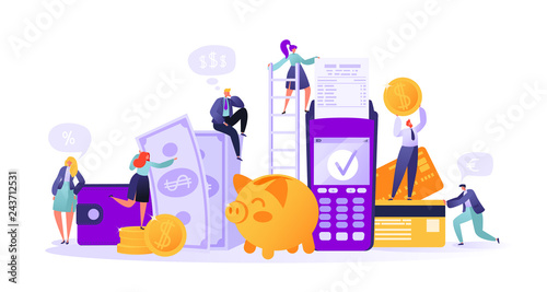Fotomural Business and finance theme