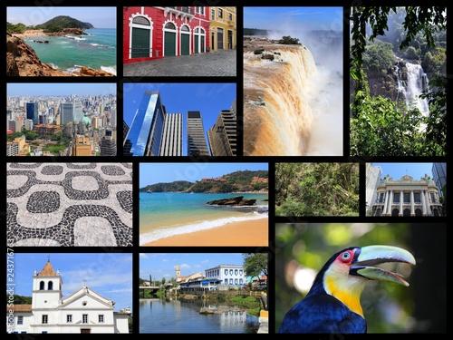 Cadres-photo bureau Amérique du Sud Brazil