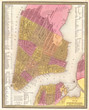 1848, Mitchell Map of New York City